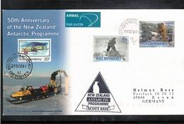 Ross Dependency Antarctica 2006 50th Anniversary Of The New Zealand Antarctic Programme Interesting Cover - Dépendance De Ross (Nouvelle Zélande)