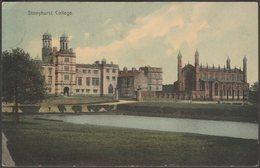 Stonyhurst College, Lancashire, C.1905 - AE Shaw Postcard - England