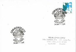 35827. Tarjeta IGUALADA (Barcelona) 1993. Ferrocarril . Centenario Tren Igualada - 1931-Hoy: 2ª República - ... Juan Carlos I