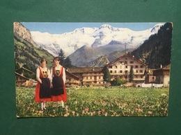 Cartolina Gressoney St. Jean - Hotel Du Nord E Monte Rose - 1960 Ca. - Italy