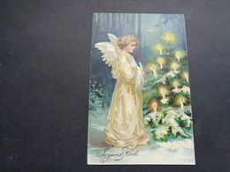 Ange ( 203 )  Engel   - Carte Gaufrée  Reliëf - Anges