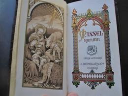 Religion,MISSEL ROMAIN Avec Superbes Enluminures,J. DEPELAY Editeurs & Cie_1923_voir Les - Livres, BD, Revues