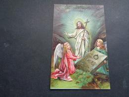 Anges ( 204 )   Ange   Engelen Engel   - Carte Gaufrée  Reliëf - Anges