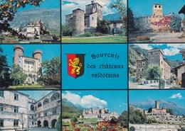 Italie   Souvenir Des Châteaux Valdotains  (49) - Italy
