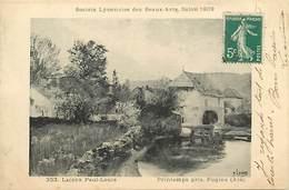 Themes Div-ref DD766 -arts-tableaux -peinture-salon -peintre Lacour Paul Louis -moulin A Eau -pugieu -ain -moulins - - Frankreich