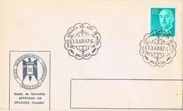 35831. Carta VALENCIA 1976. Feria Española De ARTE En METAL - 1931-Hoy: 2ª República - ... Juan Carlos I