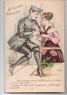 CPA Humoristique : LA GUERRE Aerienne -     Mon Moulin ....ensemble .... - War 1914-18