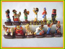 Astrologie Egyptienne .. Série Complète De 12, Email Et Or...Ref AFF : 45-2012 .. (pan 0014) - Personnages