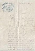 Armée De Lyon  Camp De Sathonay  8e Div Militaire   1875   Lettre 3 Pages  Signé Bugnon  Engagé Conditionel Au 86e - Vieux Papiers