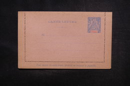 GUADELOUPE - Entier Postal Type Groupe - Non Circulé - L 54175 - Guadalupe (1884-1947)