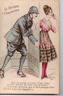 CPA Humoristique : LA GUERRE D'EMBUSCADE - Guerre 1914-18