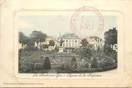-dpts Div.-ref-AR410- Vendée - La Roche Sur Yon -square De La Préfecture - Cachet Croix Rouge - Cachets - Marcophilie - - La Roche Sur Yon