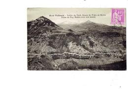 Cpa - 66 - Haut Vallespir - Vallée Du Tech - Route De Prats De Mollo - Usine De Puy Redon Avec Son Bassin - Francia