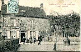 N°3899 T -cpa Aunou Sur Orne -l'école Communale- - France