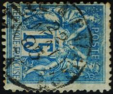 -Sage N°101Type Ll.(Ambulant) O. LILLE A CALAIS.22 MAI 1895. - 1876-1898 Sage (Type II)