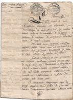 BRAGNY  1793  Contrat De Mariage  Guillaume Edouard Et Antoinette Ragouneau  12 Pages  Velin  Expedition 8 Sols - Manuscrits