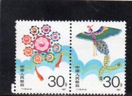CHINE 1987 ** - 1949 - ... République Populaire