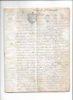 Vigne De Saint Mamet  1774  Parchemin 8 Pages  Gen De Dijon 20 Sols - Manoscritti