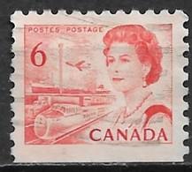 Canada 1968. Scott #459a (U) Transportation Means - Single Stamps