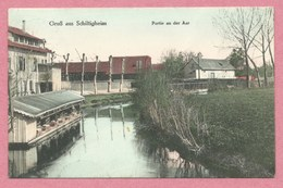67 - GRUSS Aus SCHILTIGHEIM - Partie An Der Aar - Lavoir - Voir état - Schiltigheim