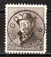 170  Roi Albert Casqué - Bonne Valeur - Oblit. Centrale Relais GOYCK - LOOK!!!! - 1919-1920 Roi Casqué