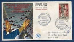 France FDC - Premier Jour - Mémorial National De La Déportation - Natzwiller - 1956 - 1950-1959