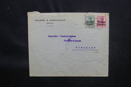 BELGIQUE - Enveloppe De Gand Pour Grammont, Oblitération Plaisante, Voir Cachet Au Verso - L 54211 - WW I
