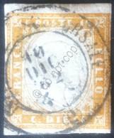 Italia Regno 1861 - Effige In Rilievo Tipo Matraire 10c - Usato - Unif. TR4B - Non Classificati
