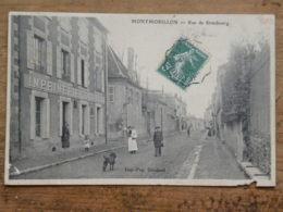 CPA (86) Vienne - MONTMORILLON - Rue De Strasbourg - Imprimerie Goudaud - Montmorillon