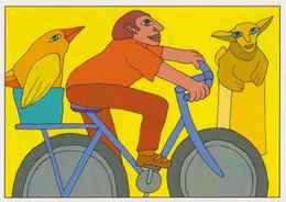 Cpm 1741/514 ERGON - Homme à Bicyclette  - Vélo - Cyclisme - Bicycle - Cycle - Illustrateurs - Illustrateur - Ergon