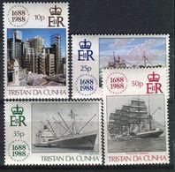 TRISTAN DA CUNHA ( POSTE ) Y&T N°  432/435  TIMBRES  NEUFS  SANS  TRACE  DE  CHARNIERE , A VOIR . - Tristan Da Cunha