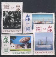 SALOMON ( POSTE ) Y&T N°  662/665  TIMBRES  NEUFS  SANS  TRACE  DE  CHARNIERE , A VOIR . - Salomon (Iles 1978-...)
