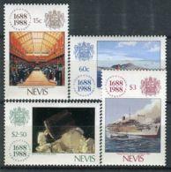 NEVIS ( POSTE ) Y&T N°  496/499  TIMBRES  NEUFS  SANS  TRACE  DE  CHARNIERE , A VOIR . - St.Kitts-et-Nevis ( 1983-...)