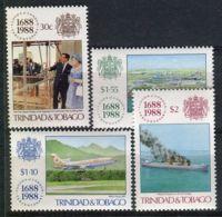 TRINITE ( POSTE ) Y&T N°  604/607  TIMBRES  NEUFS  SANS  TRACE  DE  CHARNIERE , A VOIR . - Trinidad Y Tobago (1962-...)
