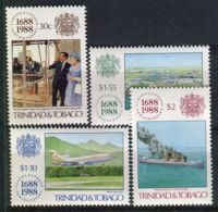 TRINITE ( POSTE ) Y&T N°  604/607  TIMBRES  NEUFS  SANS  TRACE  DE  CHARNIERE , A VOIR . - Trinidad & Tobago (1962-...)