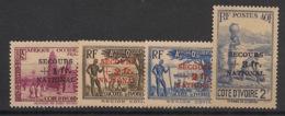 Côte D'Ivoire - 1941 - N°Yv. 165 à 168 - Secours National - Série Complète - Neuf GC ** / MNH / Postfrisch - Côte-d'Ivoire (1892-1944)