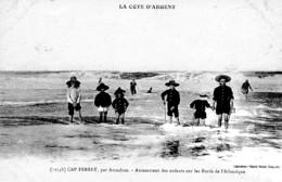 CAP FERRET PAR ARCACHON AMUSEMENTDES ENFANTS SUR LES BORDS DE L'ATLANTIQUE  REF 62900 - Francia