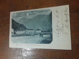 Cartolina Postale 1901, Un Saluto Da Roveredo Mesolcina - TI Tessin