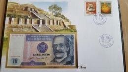 BANKNOTEN BRIEF - BANKNOTE COVER - Banknoten