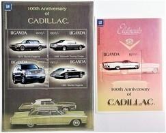 # Uganda 2003**Mi.2558-62 100 Years Of Cadillac Automobiles , MNH [14;27] - Autos