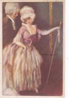 CPA 1923 - Fantaisie Couple - Costumes (lot Pat 98/02) - 1900-1949