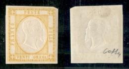 ANTICHI STATI ITALIANI - NAPOLI - 1861 - 20 Grana (23) - Gomma Originale - Colla (750) - Non Classificati
