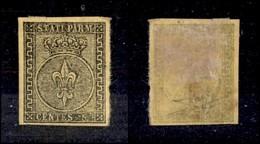 ANTICHI STATI ITALIANI - PARMA - 1852 - 5 Cent (1a) - Grandi Margini - Molto Bello - Raybaudi (300) - Non Classificati