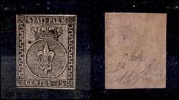 ANTICHI STATI ITALIANI - PARMA - 1852 - 15 Cent (3a - Rosa Chiaro) - Ben Marginato - Piena Gomma In Ottimo Stato Di Cons - Non Classificati