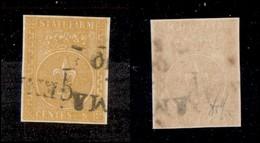 ANTICHI STATI ITALIANI - PARMA - 1853 - 5 Cent (6) - Ottimi Margini - Wolf (1.400) - Non Classificati