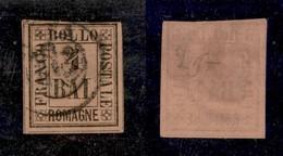 ANTICHI STATI ITALIANI - ROMAGNE - 1859 - 4 Bai (5) Preciso In Alto (300) - Non Classificati