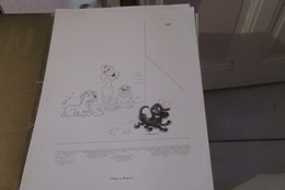 Affiche (dessin) - DUBOUT   Illustrateur  Swing Ou Zazou ? - Posters
