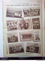 1934 MATCH L'INTRAN - SEDAN - AULNAY SOUS BOIS - NICE - NOGENT SUR SEINE - FOOTBALL CLUB THIERNOIS - LAON - CONTANTINE - Newspapers