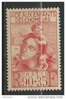 """FR YT 428 """" Au Profit Des Enfants Des Chômeurs """" 1939 Neuf** - Nuevos"""