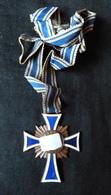Médaille,  Croix D'honneur De La Mère Allemande - Bronze,  Très Bon état - Germany